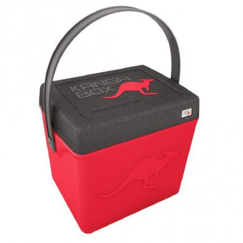 Levně KÄNGABOX® termobox  Trip 20 litrů  RED